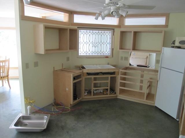 Main Kitchen Cabinets